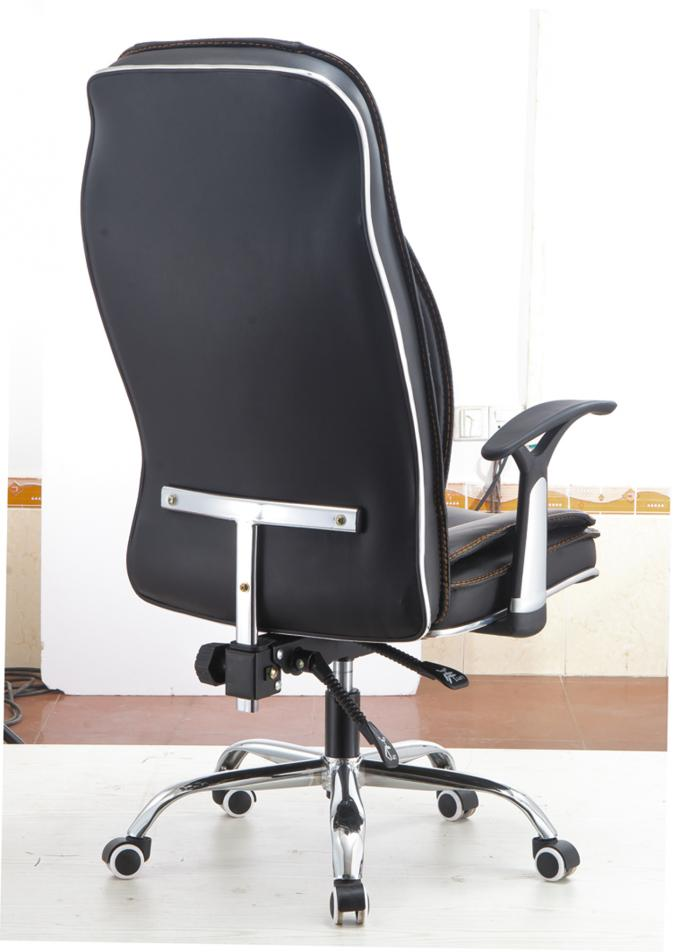 High Back Executive Pu Leather Ergonomic Office Desk Computer Chair Black Color