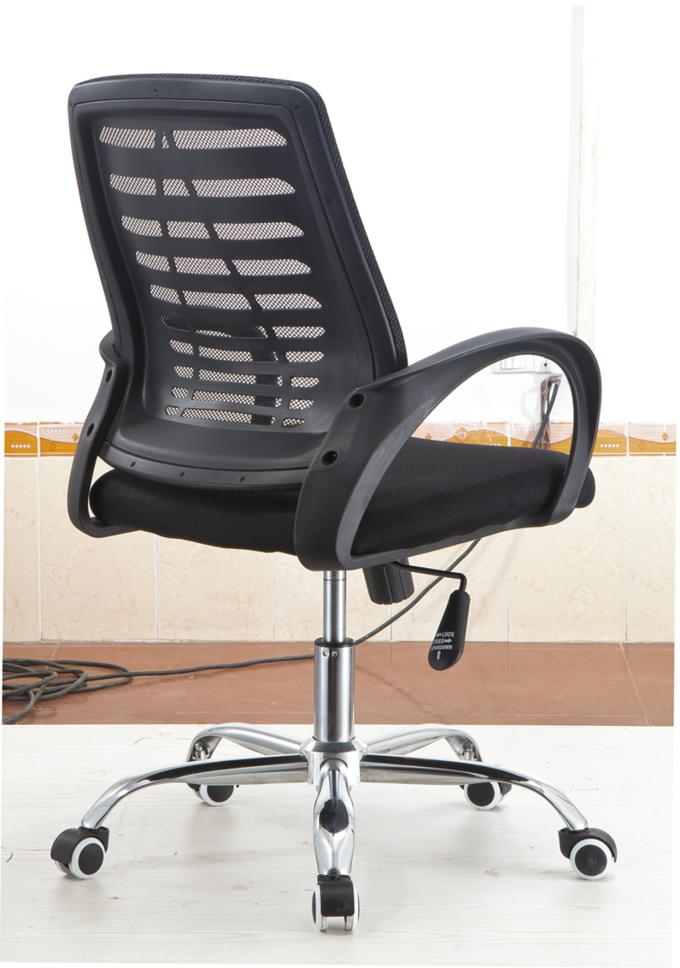 High End Secretary Office Chairs With Chrome Foot Water Resistant PP Frame