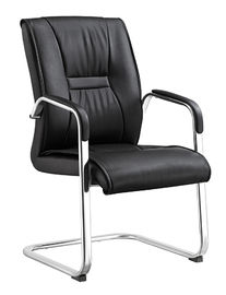 China Durable Non Swivel Desk Chair , Home Office Leather Desk Chairs High End supplier