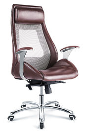 China High Back Swivel Executive Desk Chair , Mesh Back Ceo Office Chair Waterproof supplier