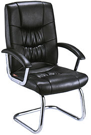 China Heavy Duty Non Rolling Office Chair , Office Boardroom Chairs Most Comfortable supplier