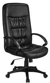 China Commercial Big Boss PU Leather Office Chair Fashion Style Chrome With Pu Cover ARM supplier