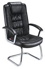 China High Back Metal Office Meeting Chairs Ergonomically Designed Fire Resistant supplier