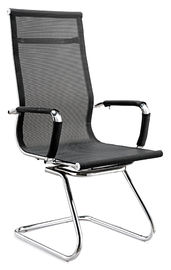 China Comfy  Office Meeting Chairs , High Back Mesh Computer Chair With Arms supplier