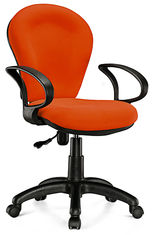 China Lightweight Economical Office Chairs With Arms And Wheels SGS Approval supplier