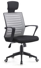 China Contemporary High Back Office Desk Chairs , Mesh Seat Chair Water Resistant supplier