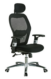 China All Mesh High Back Office Chair With Headrest Customized Color Eco Friendly supplier