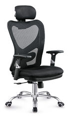 China Gas Lift Fabric Home Office Chair , Commercial Staff Office Chair Long Using Life supplier