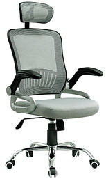 China Professional Durable Office Computer Chair With Headrest Anti Puncture supplier