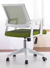 China Green Wide Design Rolling Computer Chair , Secretary Desk Chair PP Frame supplier