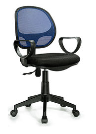 China Middle Back Office Revolving Chair Compact Design Flame Retardant supplier