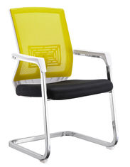 China Middle Back Office Training Chairs For Starff PU And PVC Covered Waterproof supplier