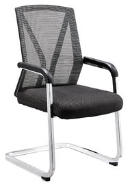 China Fireproof Nice Office Meeting Chairs For Secretary Metal Foot Long Using Life supplier