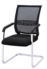 China Non Rolling Manager / Staff Office Chair Mesh Back And Mesh Bottom SGS Approval supplier