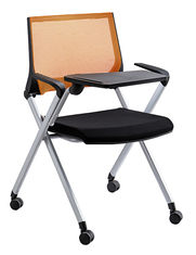 China Convenient Office Training Chairs With Tables Split Back Most Comfortable supplier