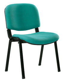 China Colorful Stackable Fabric Chairs , Low Back Office Chair For Boardroom supplier