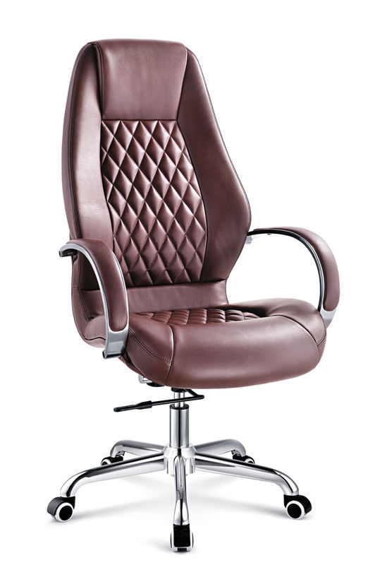 Swell Brown Luxury Executive Office Chairs With Arms And Wheels Home Interior And Landscaping Ologienasavecom