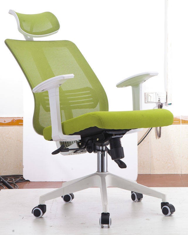 Incredible Adjustable Back Fabric Executive Office Chairs Green Download Free Architecture Designs Estepponolmadebymaigaardcom