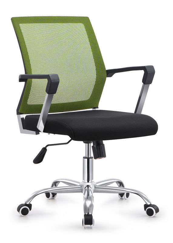 Wide Cloth Covered Staff Office Chairs For Heavy People Environmental Friendly