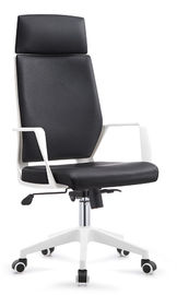 Basic Executive Business Chairs , Commercial Office Furniture Leather Chairs