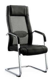China High End Office Visitor Chairs , Office Side Chairs With Arms Puncture Proof factory