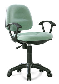 Classic Compact Fabric Office Chairs With Wheels PP Frame / Arm Fashionable
