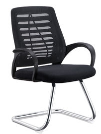 All Mesh Heavy Duty Reception Chairs , Counter Height Office Chairs PU Cover
